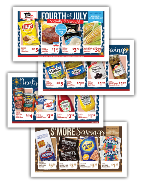 04 Mike's Super Market Fourth of July 4-Page Wrap copy
